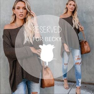 Sweaters - RESERVED LISTING For Becky 🌹